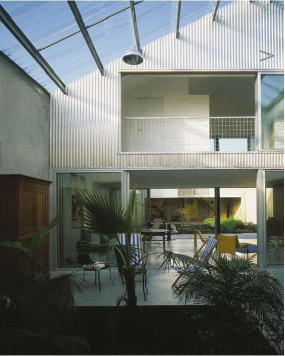 Lacaton Vassal House in Bordeaux, 1999