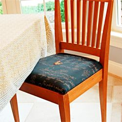 How To Re Upholster Your Dining Room Chairs.