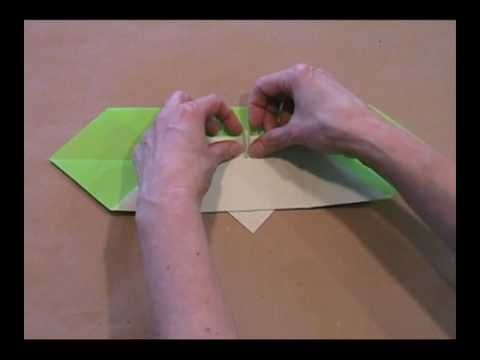 Origami Yoda- wish they had video when I  made this model 10 years ago!