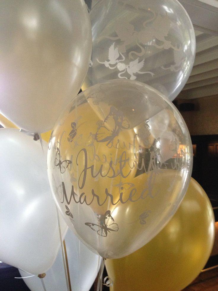 17 beste idee n over bruiloft ballonnen op pinterest for Ballonnen tafels
