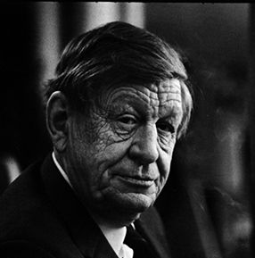 'I'll love you, dear, I'll love you    Till China and Africa meet, And the river jumps over the mountain    And the salmon sing in the street,  As I walked out one evening-- W.H. Auden, 1907-1973