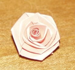 Folded Paper Roses for Quilling Projects and More