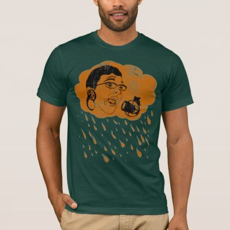 Chocolate Rain T-Shirt - click/tap to personalize and buy