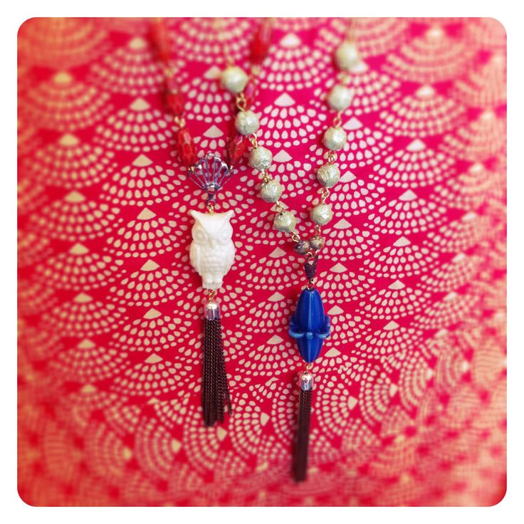 Reclaimed vintage bead necklaces at Something For Doris in Wollongong