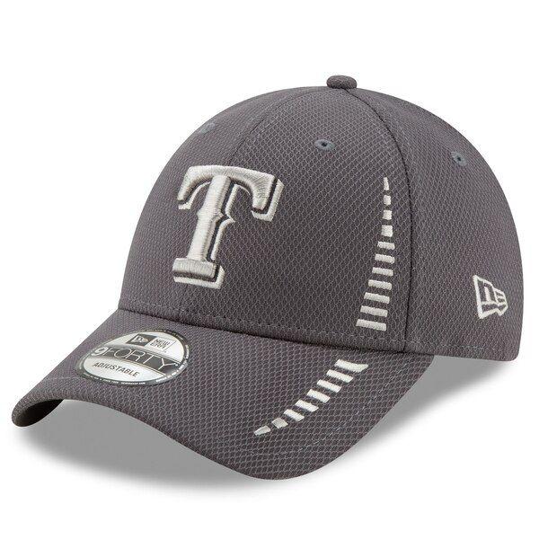 Texas Rangers New Era Speed Tech 9forty Adjustable Hat Graphite Texasrangers Texas Rangers Adjustable Hat Rangers News