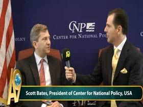 Scott Bates, Ulusal Politika Merkezi'nin Yöneticisi, ABD Video