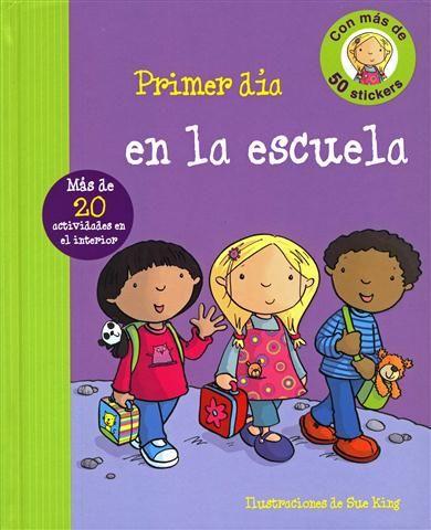 #Infantil / 0 a 3 años #PrimeraExperiencia PRIMER DIA DE ESCUELA  - Ronne Randall #Parragon