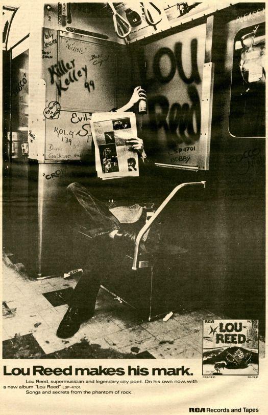 JUXTAPOZ / Lou Reed