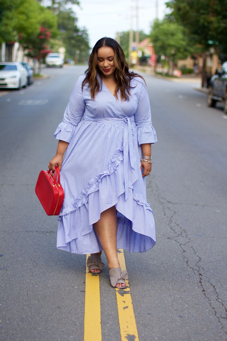 Perfect Summer Dress | Plus Size Outfit Ideas | who what wear | Target Style