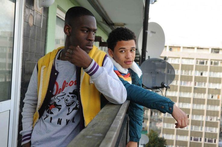Ade Oyefeso andCalvin Demba play Yemi and Jay