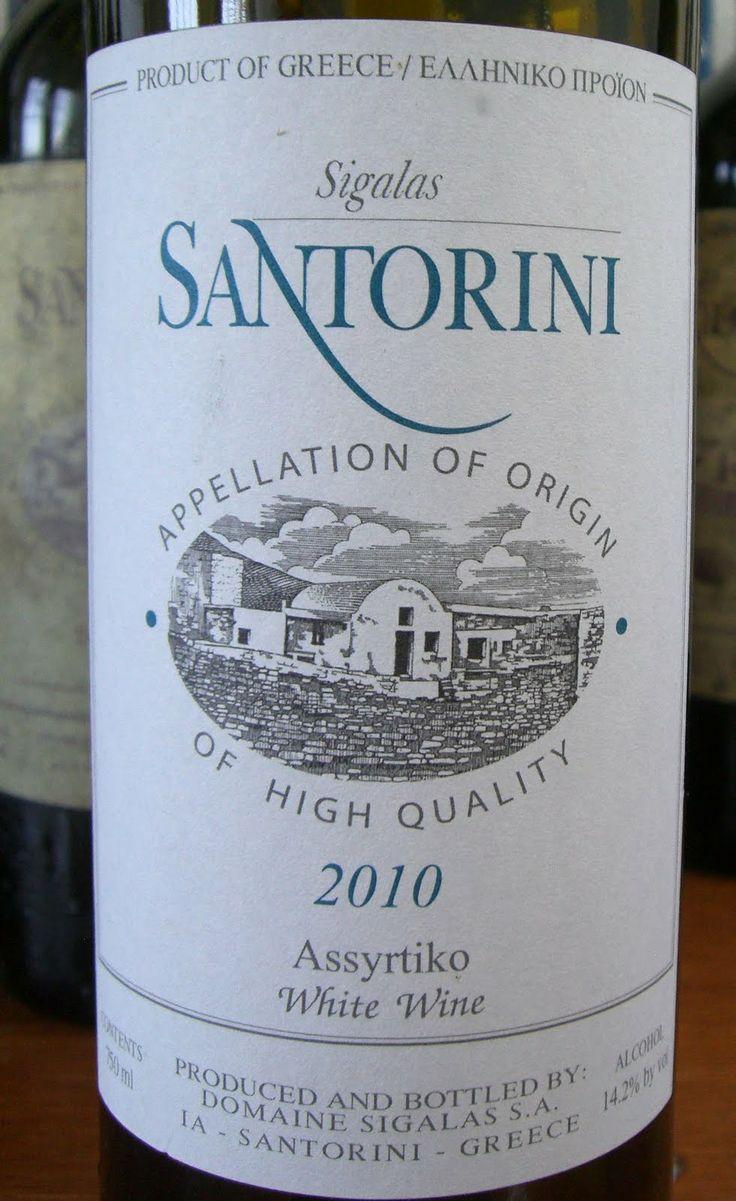 domaine sigalas santorini assyrtiko 2008 -