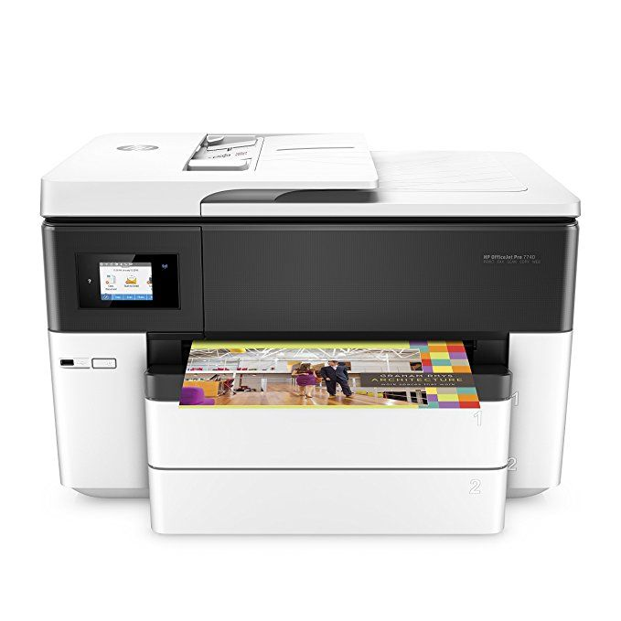 Hp Officejet Pro 7740 Wide Format All In One Printer With Wireless