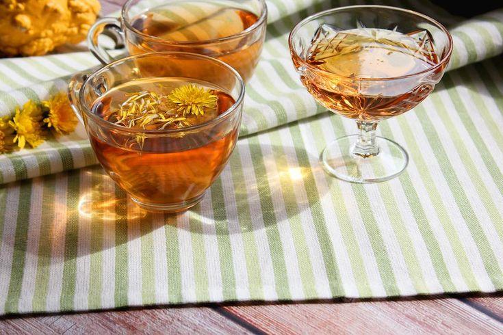 Dandelion Root Tea, Dandelion Tea Benefits, Tasty Vegetarian Recipes, Healthy Recipes, Tea Blends, Herbal Remedies, Natural Remedies, Food Hacks, Bon Appetit