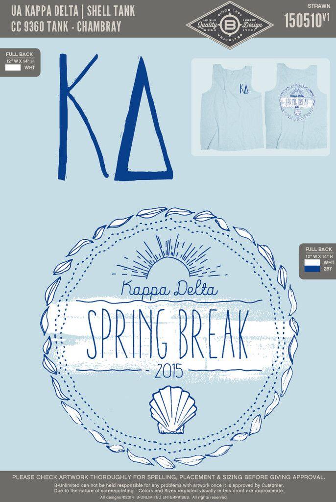 Kappa Delta spring break 2015