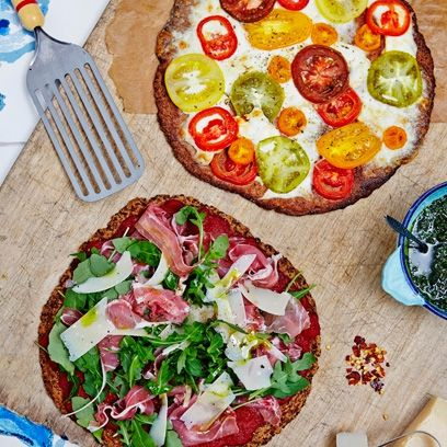 Flower Power Pizza recipe | Hemsley + Hemsley recipes | Health and Self - Red Online