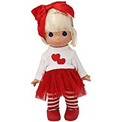 """The Doll Maker Happy Valentine's Day Doll, One Color, 9"""""""