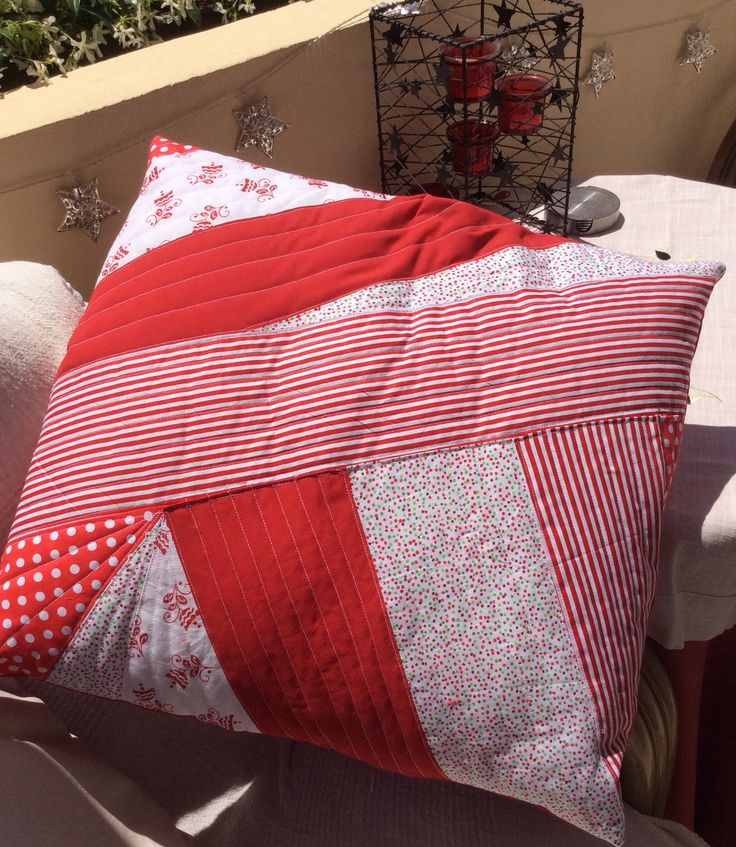 My first Quilted cushion