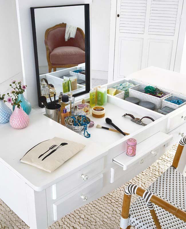 muebles habitacion organizador maquillaje tocador maquillaje