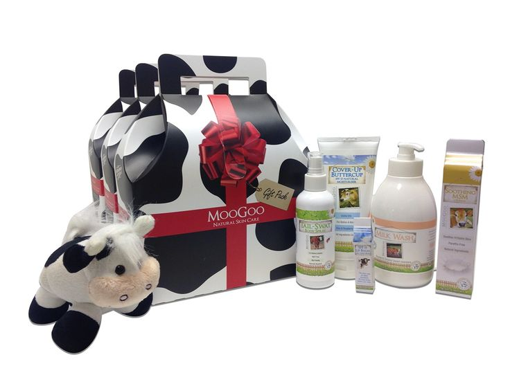 The best skincare products - Moo Goo!
