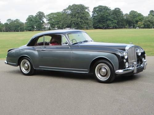 Bentley S1 Continental Coupe by Park Ward (1956)