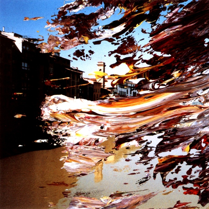 Gerhard Richter, Florence, 2000, oil on photographs