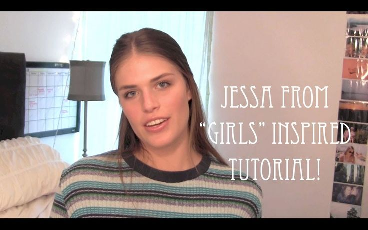"Jessa from ""GIRLS"" Inspired Tutorial - YouTube"