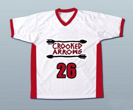 Crooked Arrows Movie  Tyler Hill  Silverfoot by BestValue88jerseys, $49.95