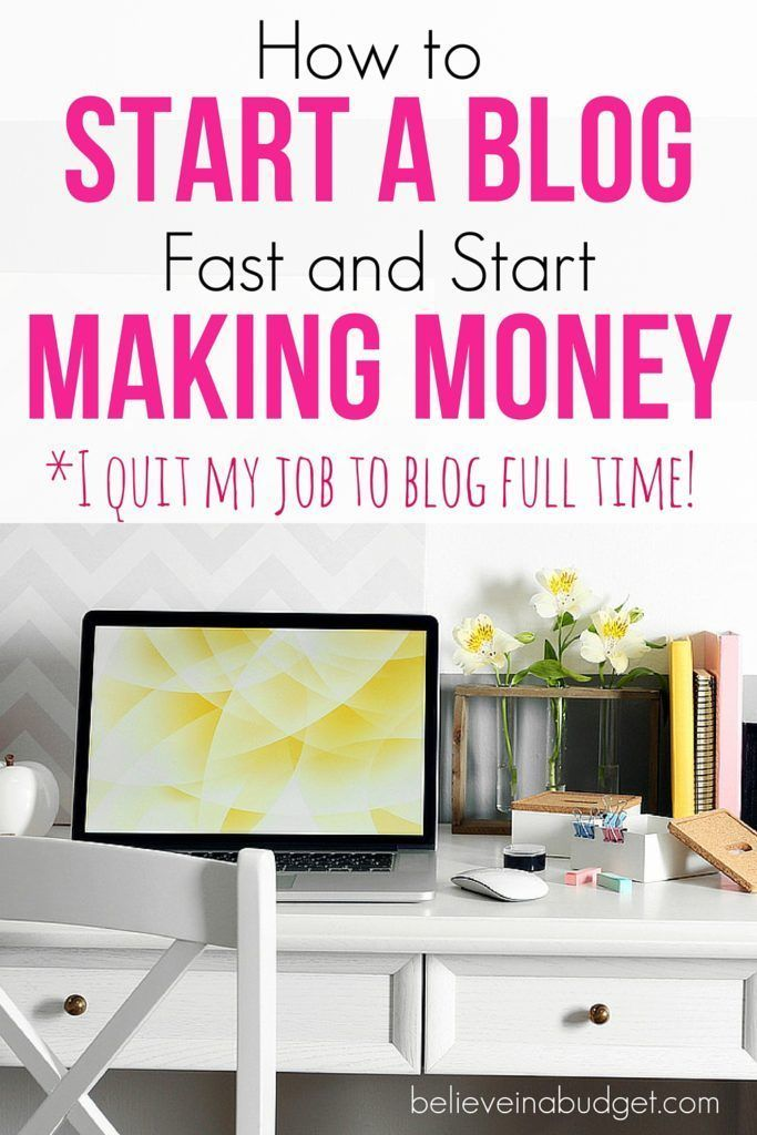 One of the best ways to make extra money and side hustle is to start a blog…