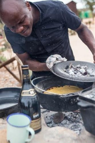 COOKING WITH CHEF PETRUS | Malva pudding is part of our South African heritage – try cooking this recipe over an open fire, but it will work really well in your oven, too!