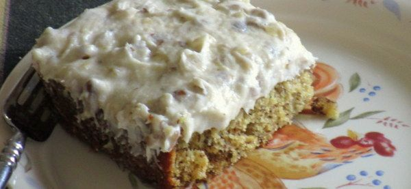 Banana Cake and Frosting - Recipe Revised - by kimbesa