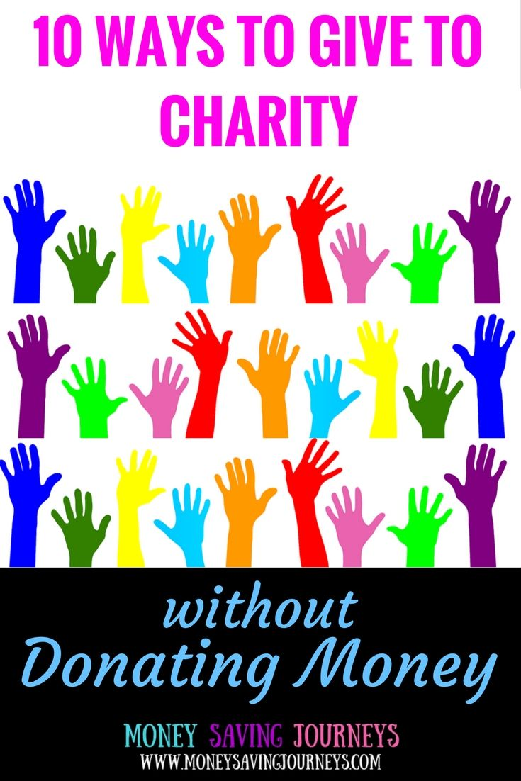 FIVE REASONS TO GIVE TO CHARITY