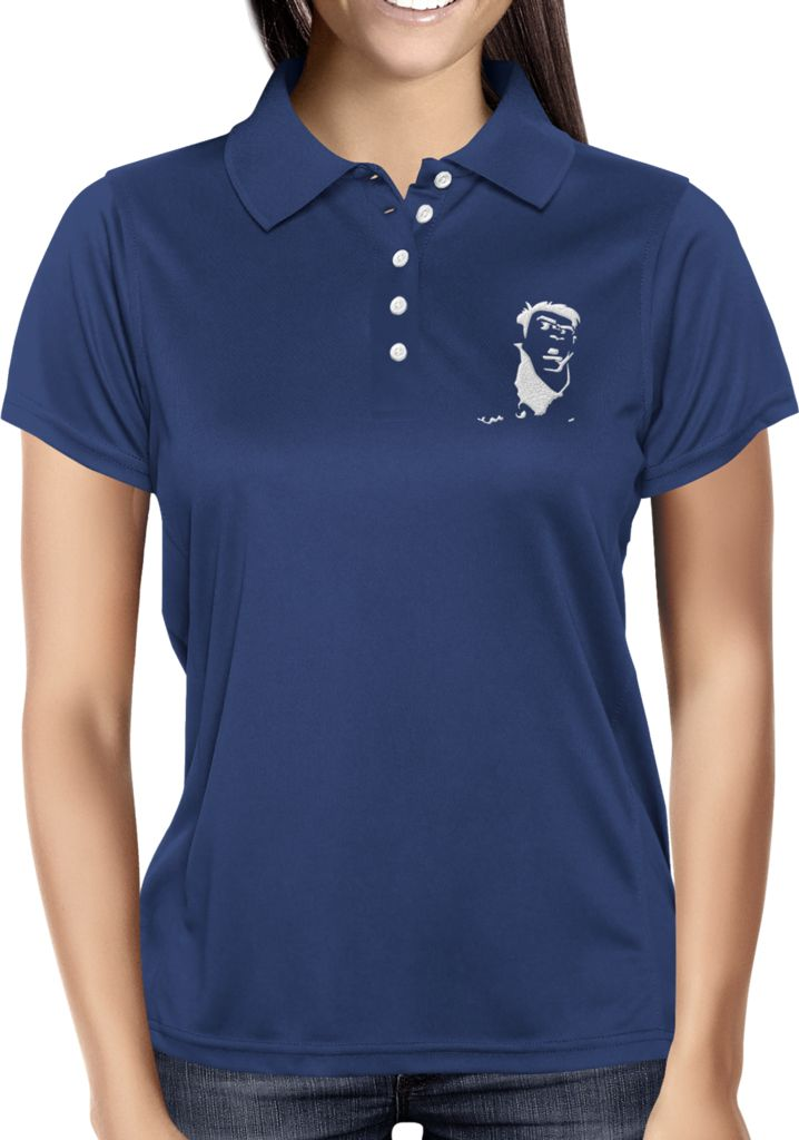 Navy Blue Blank - Dhaporshankh Girls Polos