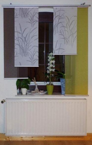 26 besten FLÄCHENVORHÄNGE Bilder auf Pinterest Abendsonne, Alles - farben im interieur stilvolle ambiente