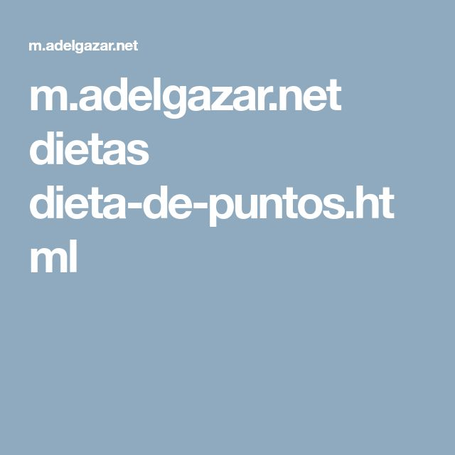 m.adelgazar.net dietas dieta-de-puntos.html