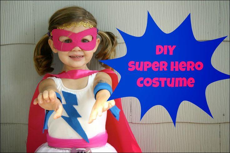 Superhero Dress Up Ideas for Girls
