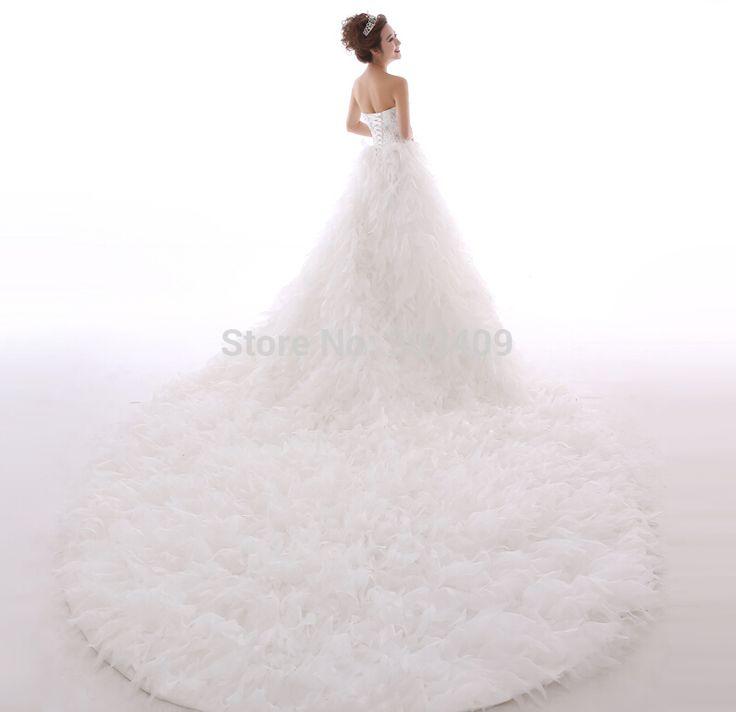Купить товарПлатье свадебное платье роскошный большой задней кристально яркие лепестки грудь салфетки без бретелек свадебное платье в категории Свадебные платьяна AliExpress.                        Добро пожаловать в мой магазин                             Нет готовых свадебное платье!  Н