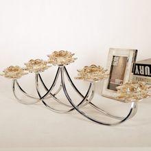Luxo decoração de casa decoração de velas de decoração 5 cabeça de decoração de alta qualidade(China (Mainland))