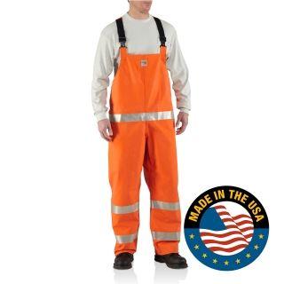 Carhartt 100445 Men's Flame-Resistant Rainwear Bib #Carhartt #Coverall