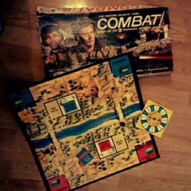 vintage find combat tv show board game my junk sale finds pinterest vintage tv. Black Bedroom Furniture Sets. Home Design Ideas