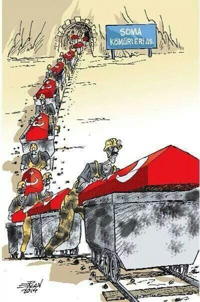 Acı büyük... Soma Turkey :(((( pray for Turkey