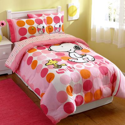 Peanuts Best Pals Twin Bedding Set For Brianna Woodstock
