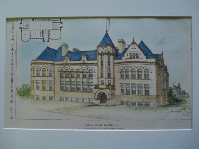 The Late Lamented Lincoln School Evanston Illinois I Went To Kindergarten There