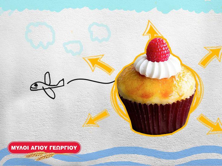Τα cupcakes είναι τα πιο όμορφα κεκάκια και τα μικρά σας τα λατρεύουν! Γιατί να μην τα φτιάξετε και τα στολίσετε μαζί; Έχουμε την πιο εύκολη και γρήγορη συνταγή για cupcakes με αλεύρι φάριν απ των Μύλων Αγίου Γεωργίου! #myloiagiougeorgiou #cupcakes #dessert #recipes #tips