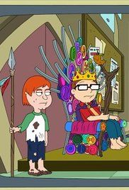 American Dad Familyland Episode. The Smiths take a family vacation to a medieval-style theme park where they're taken prisoner when the frozen head of the park is accidentally thawed.