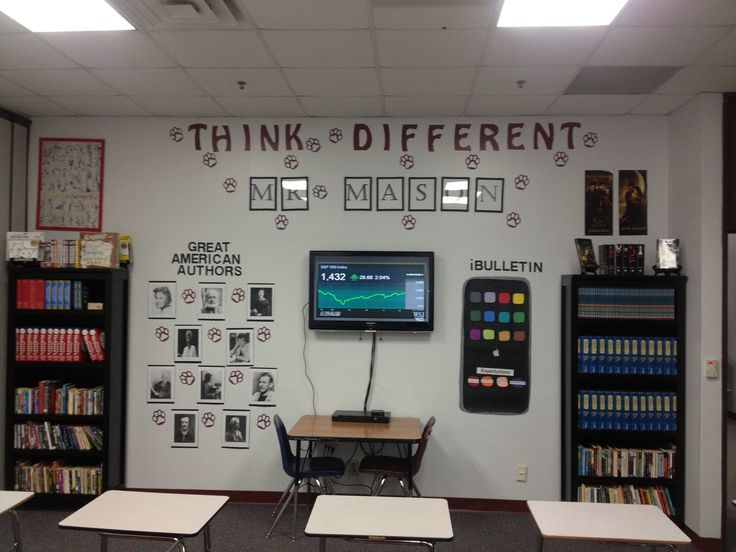 Best 25 ipod bulletin board ideas on pinterest my job for Back to school wall decoration