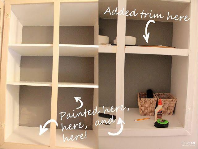 Per valorizzare una libreria dipingere lo sfondo!!