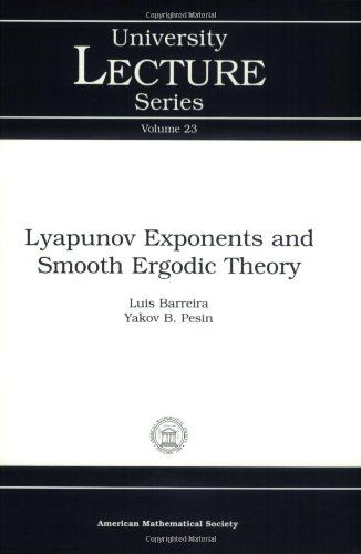 Lyapunov Exponents and Smooth Ergodic Theory (University Lecture Series)