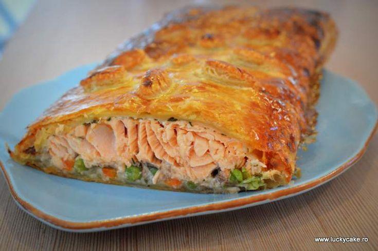 Somon in crusta de foietaj - Lucky Cake