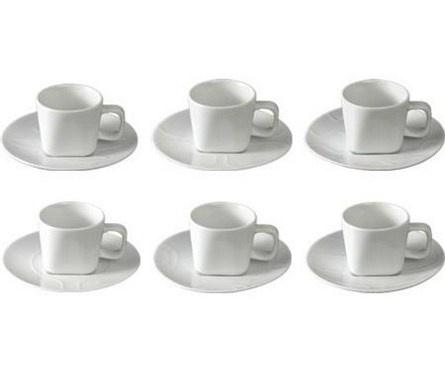 Espresso cup & saucer OPTI design by: Setsu & Shinobu It for Covo: Opti Design, Saucer Opti