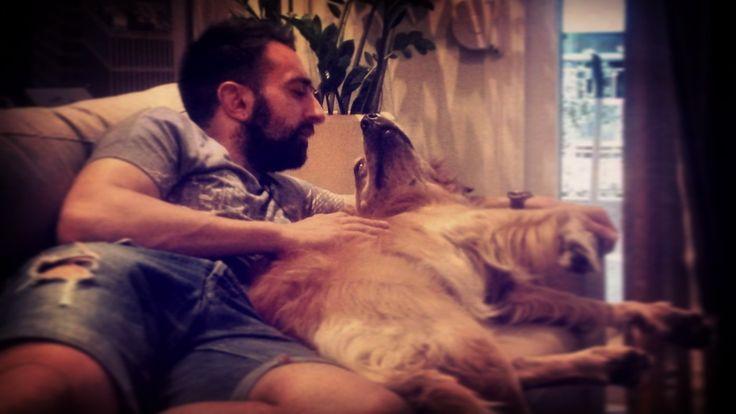 Love at First Glance #may2017 #biancaglance #biancathedog #goldenretriever #mylove